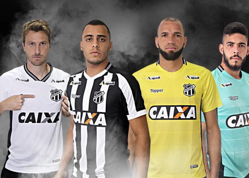 Camisetas 2018/19 del Ceará SC | Imagen Topper