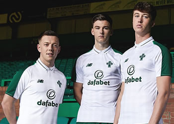 Camiseta suplente del Celtic FC 2018/19 | Imagen New Balance