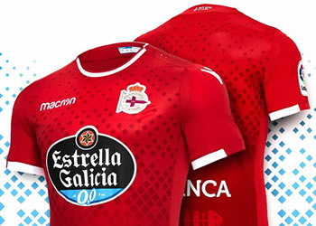 "Camiseta ""Noite Meiga"" del Deportivo La Coruña | Imagen Macron"