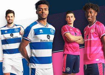 Camisetas Erreà 2018/19 del QPR | Imagen Web Oficial