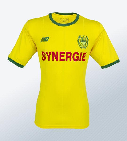 Camiseta titular 2018/19 del FC Nantes | Imagen Web Oficial