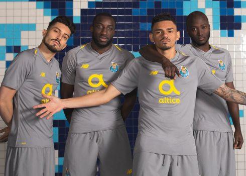 Camiseta suplente 2018/19 del FC Porto | Imagen New Balance