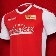 Camiseta titular 2018/19 del FC Unión Berlín | Imagen Macron
