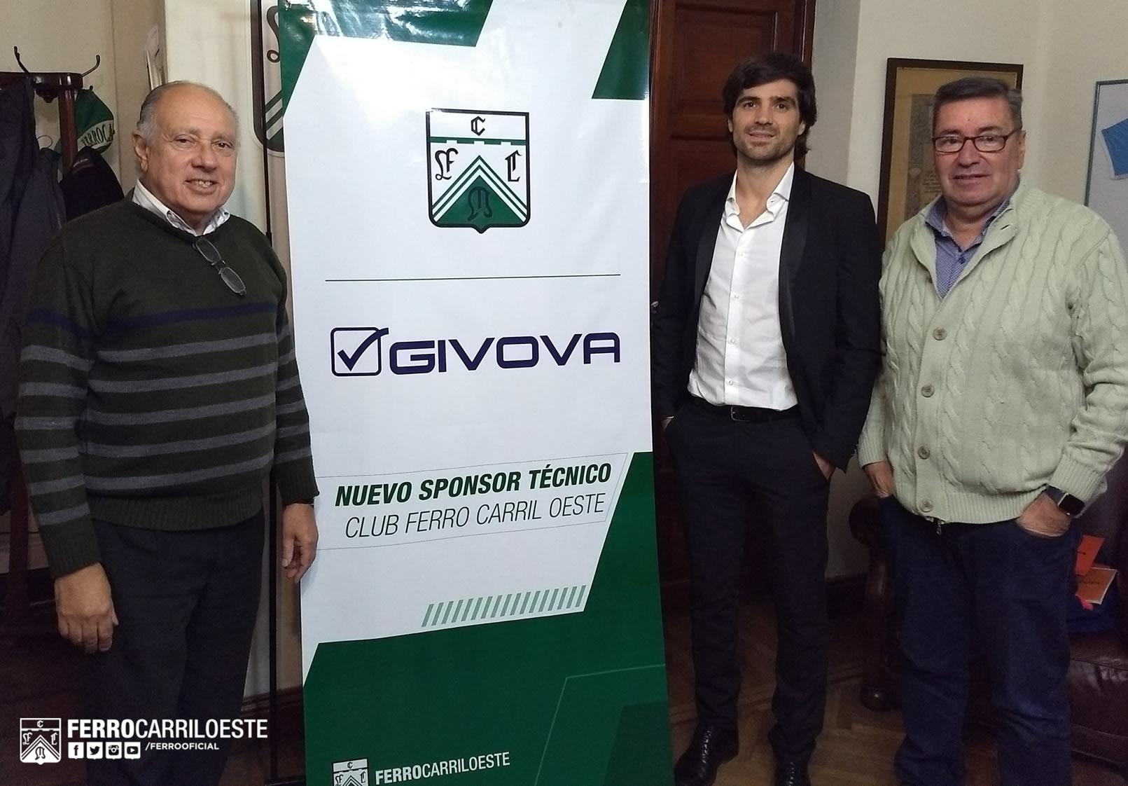 Ferro será vestido por Givova | Imagen Twitter Oficial