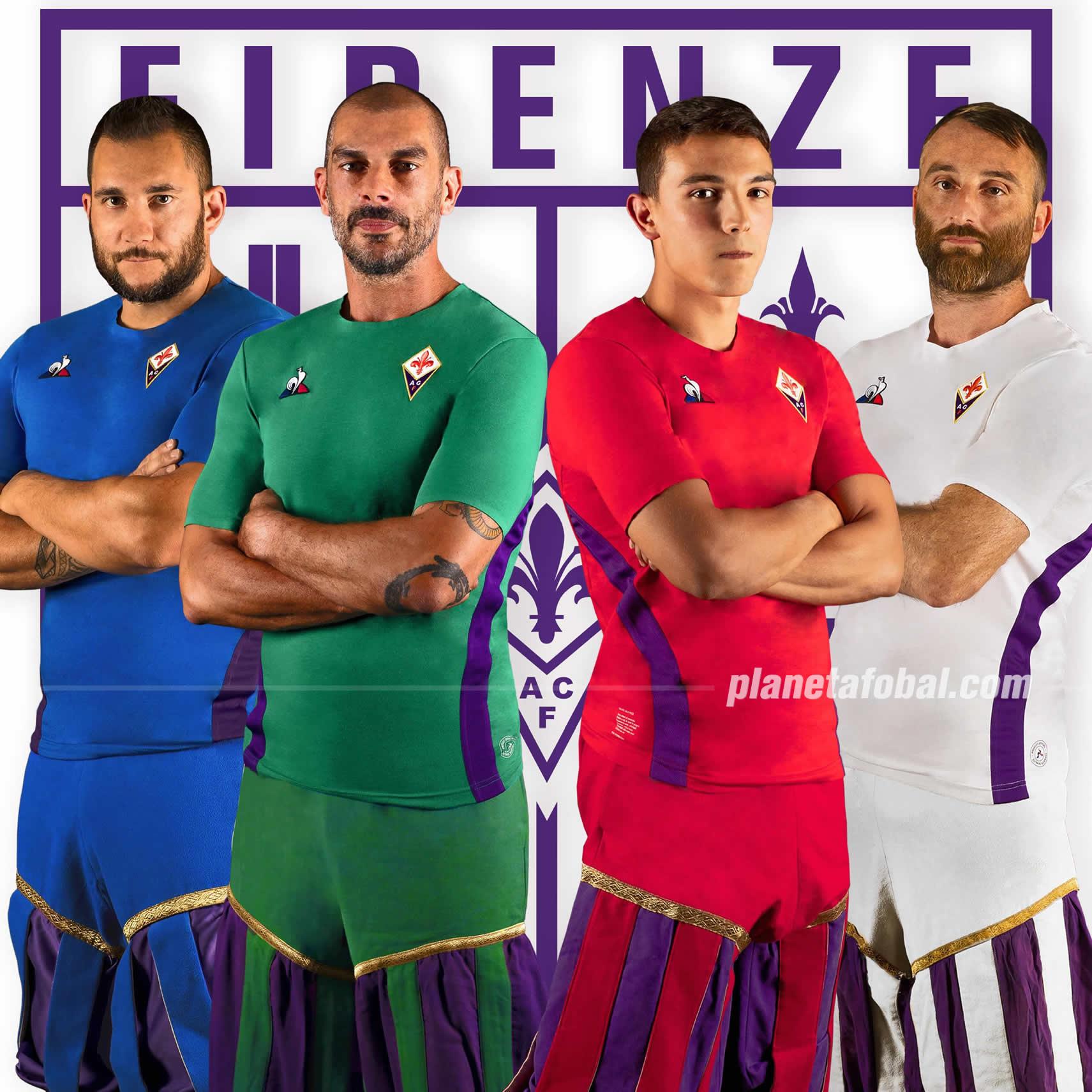 Los cuatro modelos alternativos de la Fiorentina | Imagen Twitter Oficial