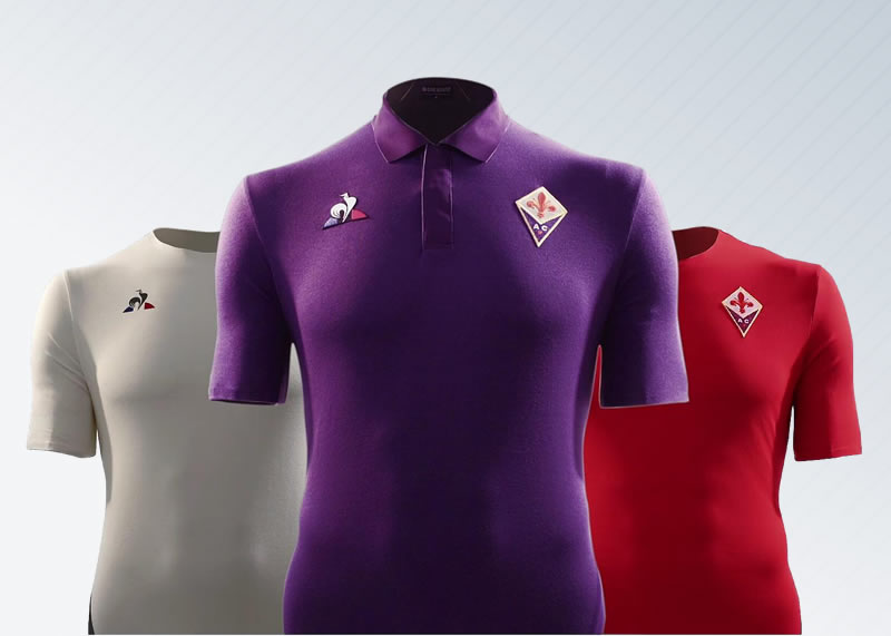 Camisetas 2018/19 de la Fiorentina de Italia | Imagen Web Oficial