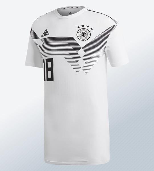 Camiseta de Alemania versión Primeknit | Imagen Adidas