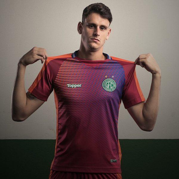Camiseta arquero del Guarani FC | Imagen Topper
