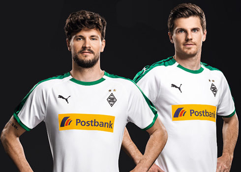 Camiseta titular Puma del Borussia Mönchengladbach 2018/19 | Imagen Web Oficial
