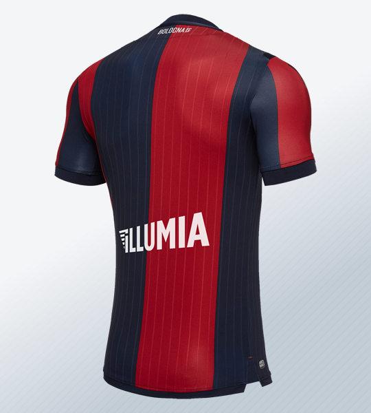 Camiseta titular 2018/19 del Bologna | Imagen Macron