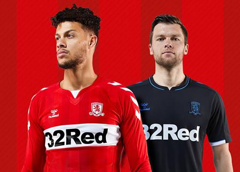 Camisetas Hummel 2018/19 del Middlesbrough FC | Foto Web Oficial