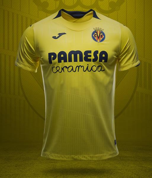 Camiseta titular Joma 2018/19 del Villarreal CF | Imagen Web Oficial
