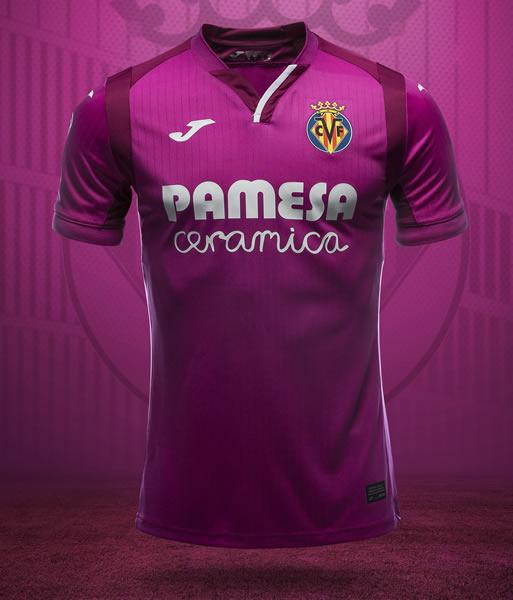 Camiseta suplente Joma 2018/19 del Villarreal CF | Imagen Web Oficial