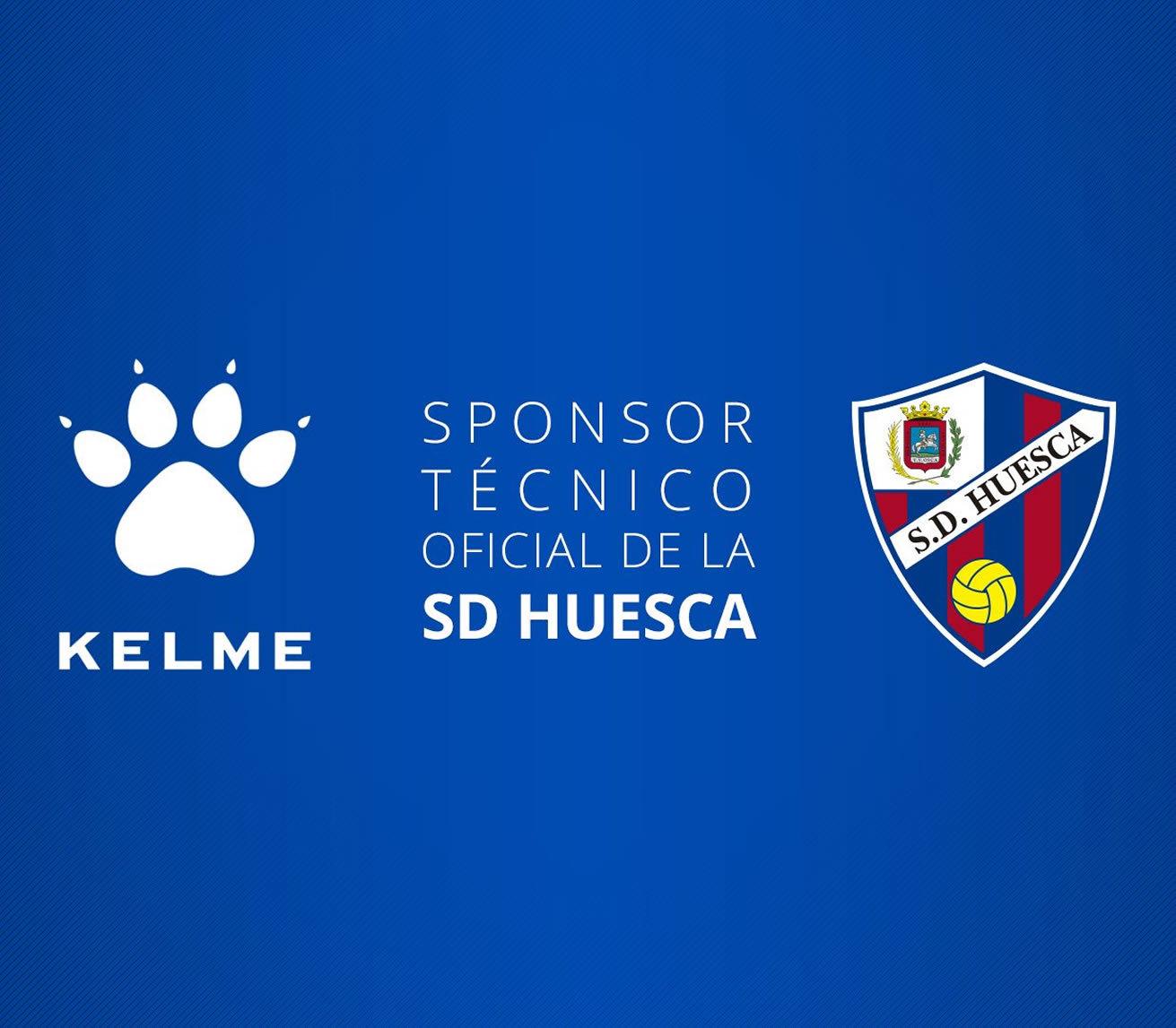 Kelme vestirá al SD Huesca en LaLiga 2018/19 | Imagen Twitter Oficial