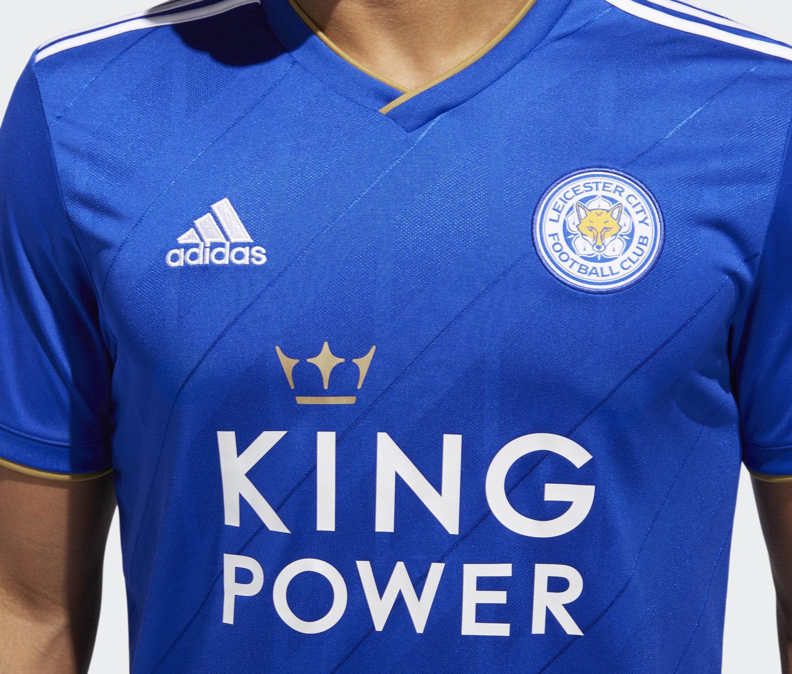 Camiseta titular del Leicester City | Imagen Adidas