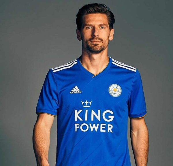 Camiseta titular del Leicester City | Imagen Web Oficial