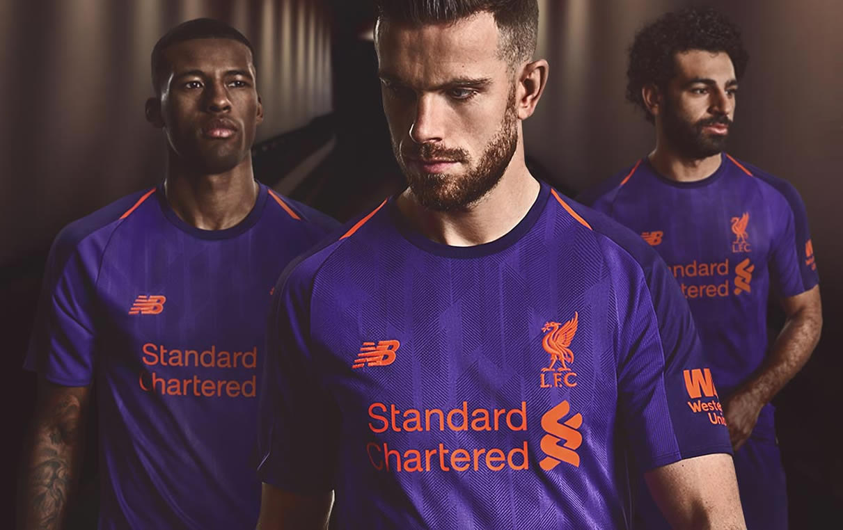 024ed206fb Camiseta suplente New Balance del Liverpool 2018 2019