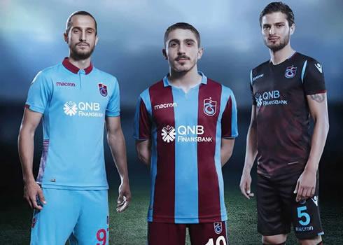 Camiseta Macron del Trabzonspor 2018/19   Imagen Web Oficial