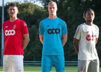 Camisetas New Balance del Standard de Liegè 2018/19 | Imagen Twitter Oficial