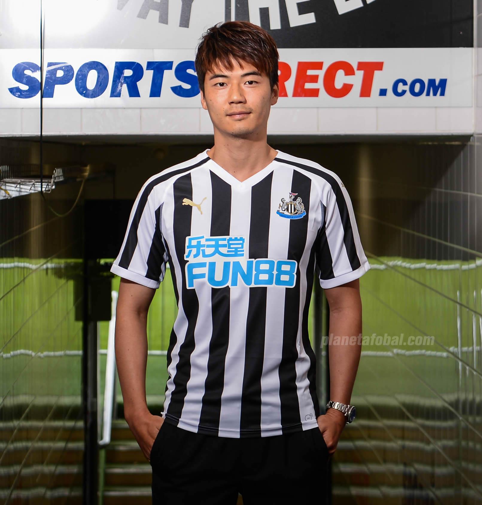 Camiseta titular Puma del Newcastle United 2018/2019 | Imagen Web Oficial