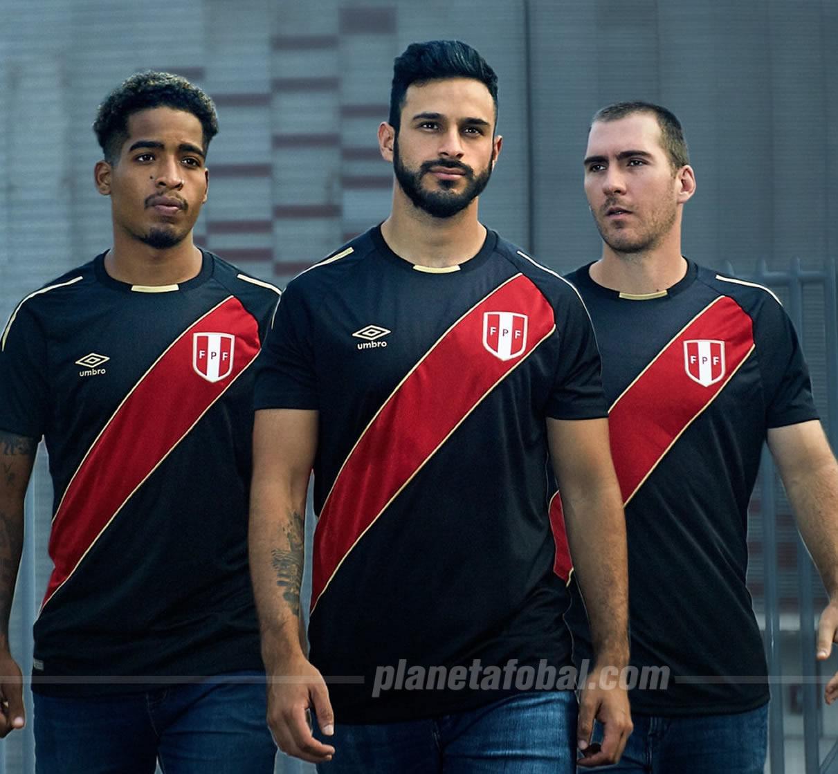 Camiseta edición limitada de Perú 2018 | Imagen Umbro