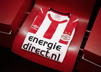 Camiseta titular Umbro del PSV Eindhoven | Imagen Web Oficial