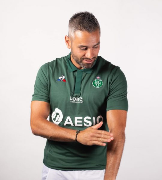 Camiseta titular del AS Saint-Étienne | Imagen Web Oficial