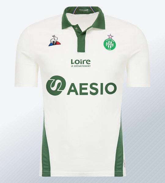 Camiseta suplente del AS Saint-Étienne | Imagen Web Oficial