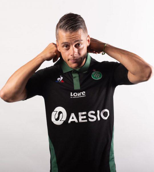 Tercera camiseta del AS Saint-Étienne | Imagen Web Oficial