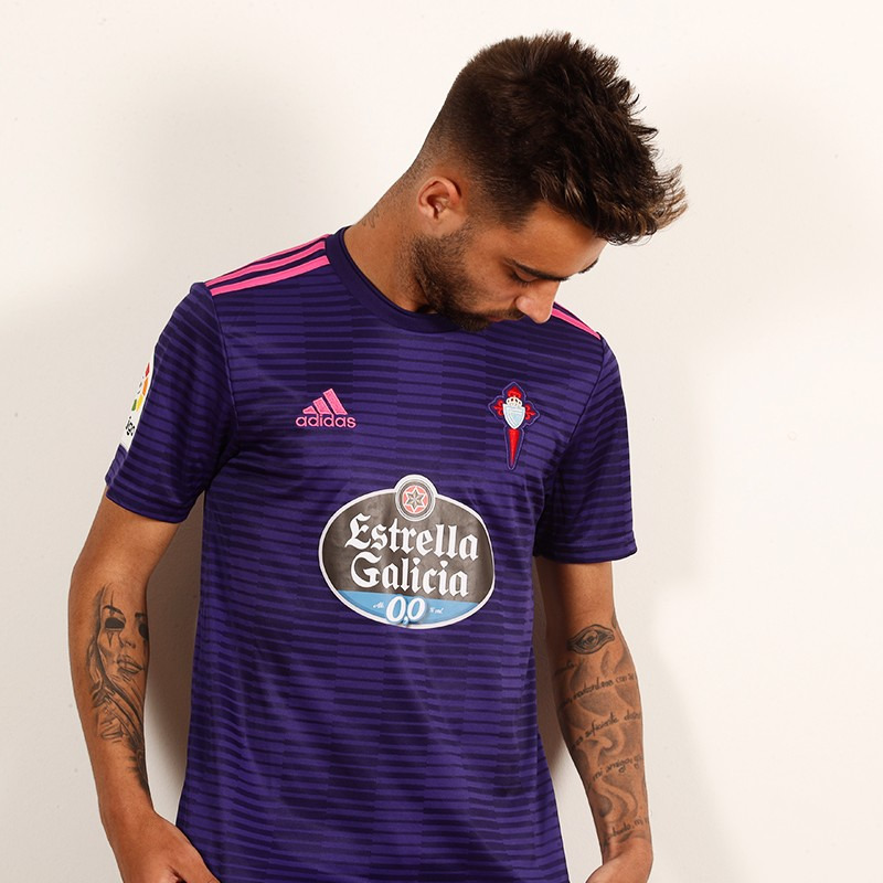 128eb53ba Camiseta suplente Adidas 2018 19 del RC Celta