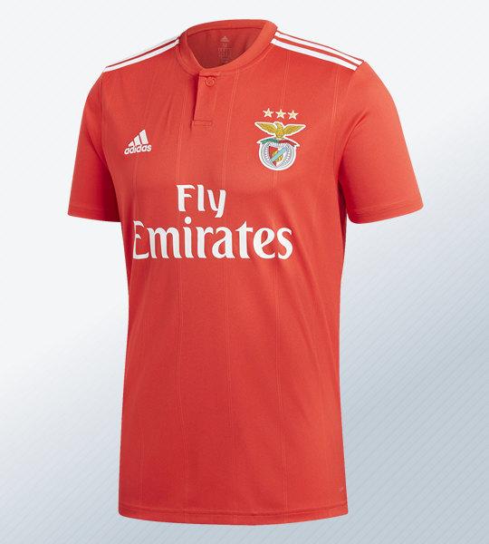 Camiseta titular 2018/19 del Benfica | Imagen Adidas