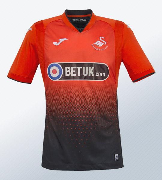 Camiseta suplente Joma del Swansea City | Imagen Web Oficial