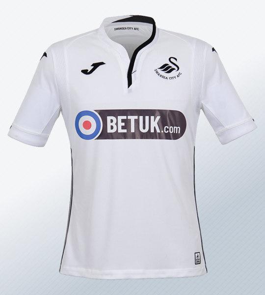 Camiseta titular Joma del Swansea City | Imagen Web Oficial