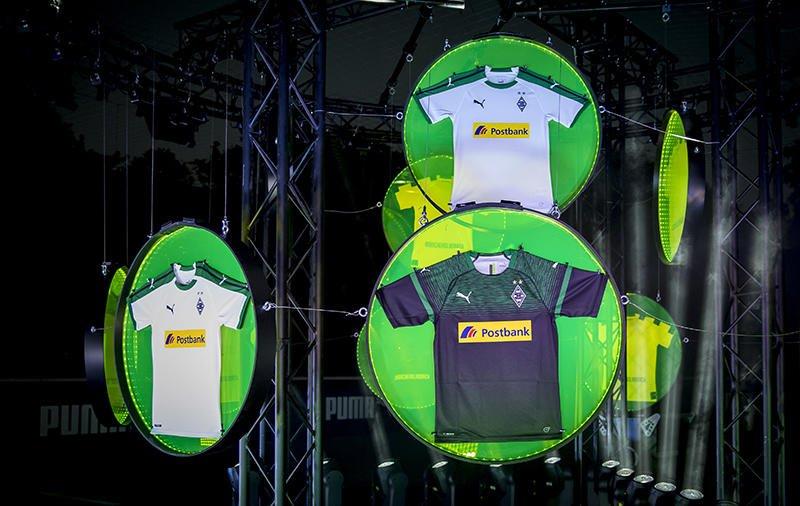 Camisetas Puma del Borussia Mönchengladbach 2018/19 | Imagen Web Oficial
