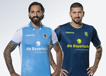 Camisetas 2018/19 del TSV 1860 München | Imagen Macron