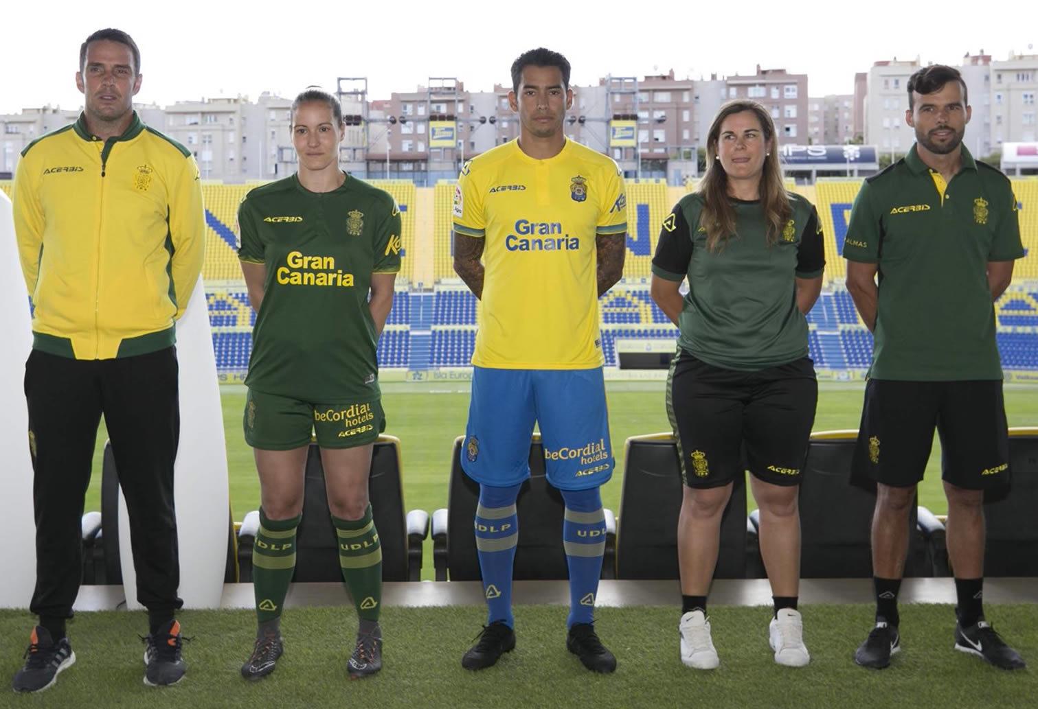 Equipaciones Acerbis de la UD Las Palmas 2018/19 | Imagen Web Oficial