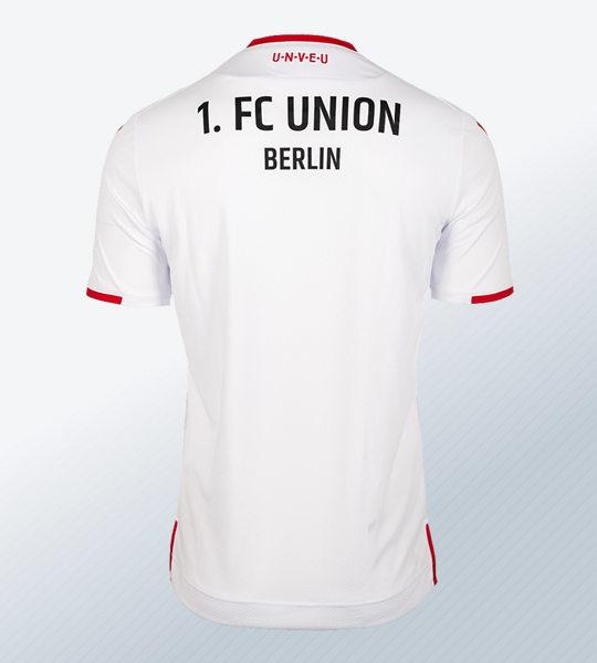 Camiseta suplente Macron del Unión Berlín | Imagen Web Oficial