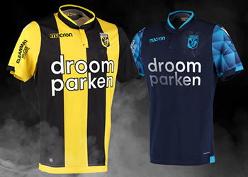 Camisetas Macron 2018/19 del Vitesse Arnhem | Imagen Web Oficial