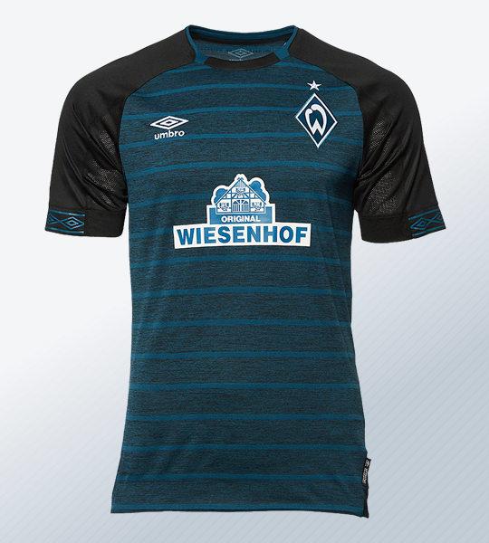 Camiseta suplente Umbro del Werder Bremen 2018/19 | Imagen Web Oficial