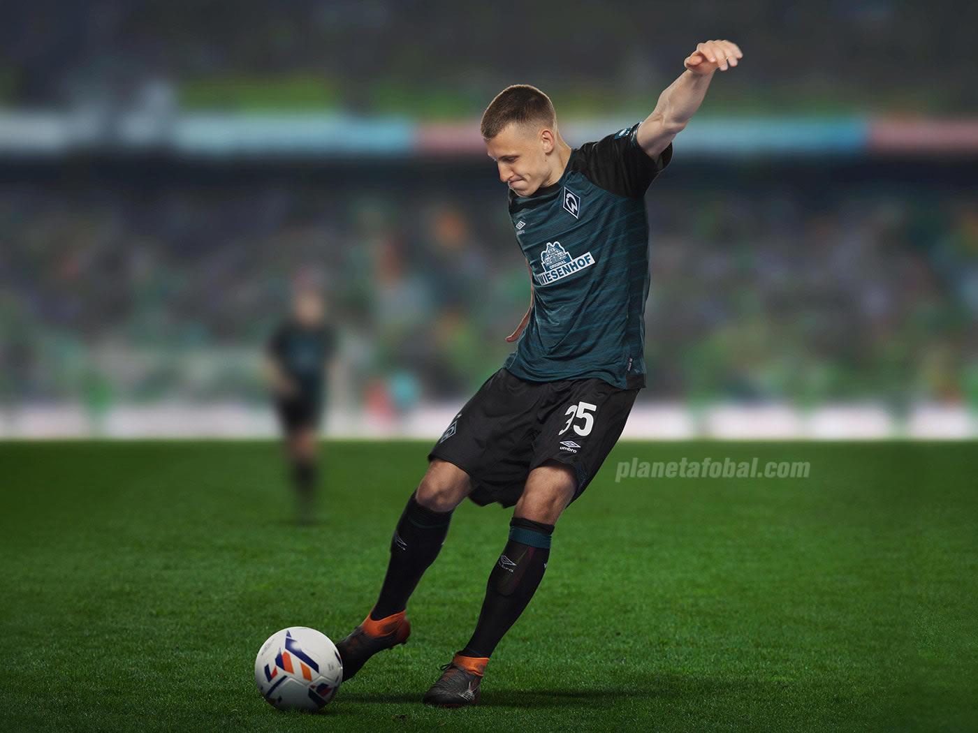 6181f8eee6 Camiseta suplente Umbro del Werder Bremen 2018 19