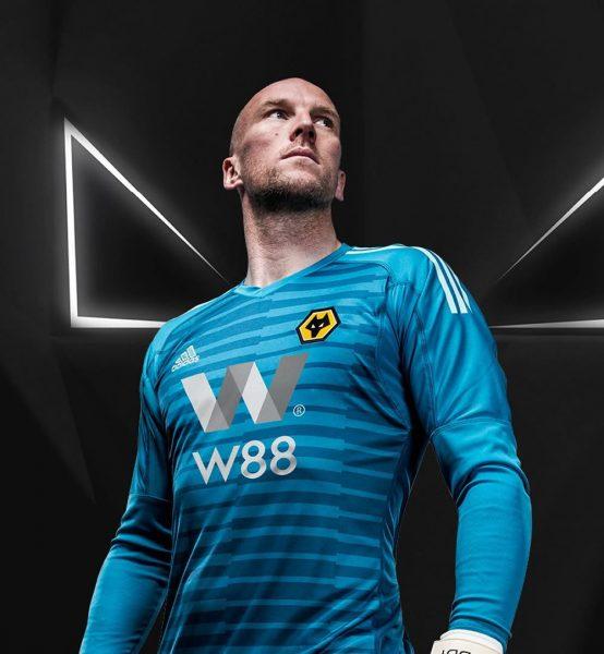 Camiseta de arquero Adidas del Wolverhampton 2018/19 | Imagen Web Oficial