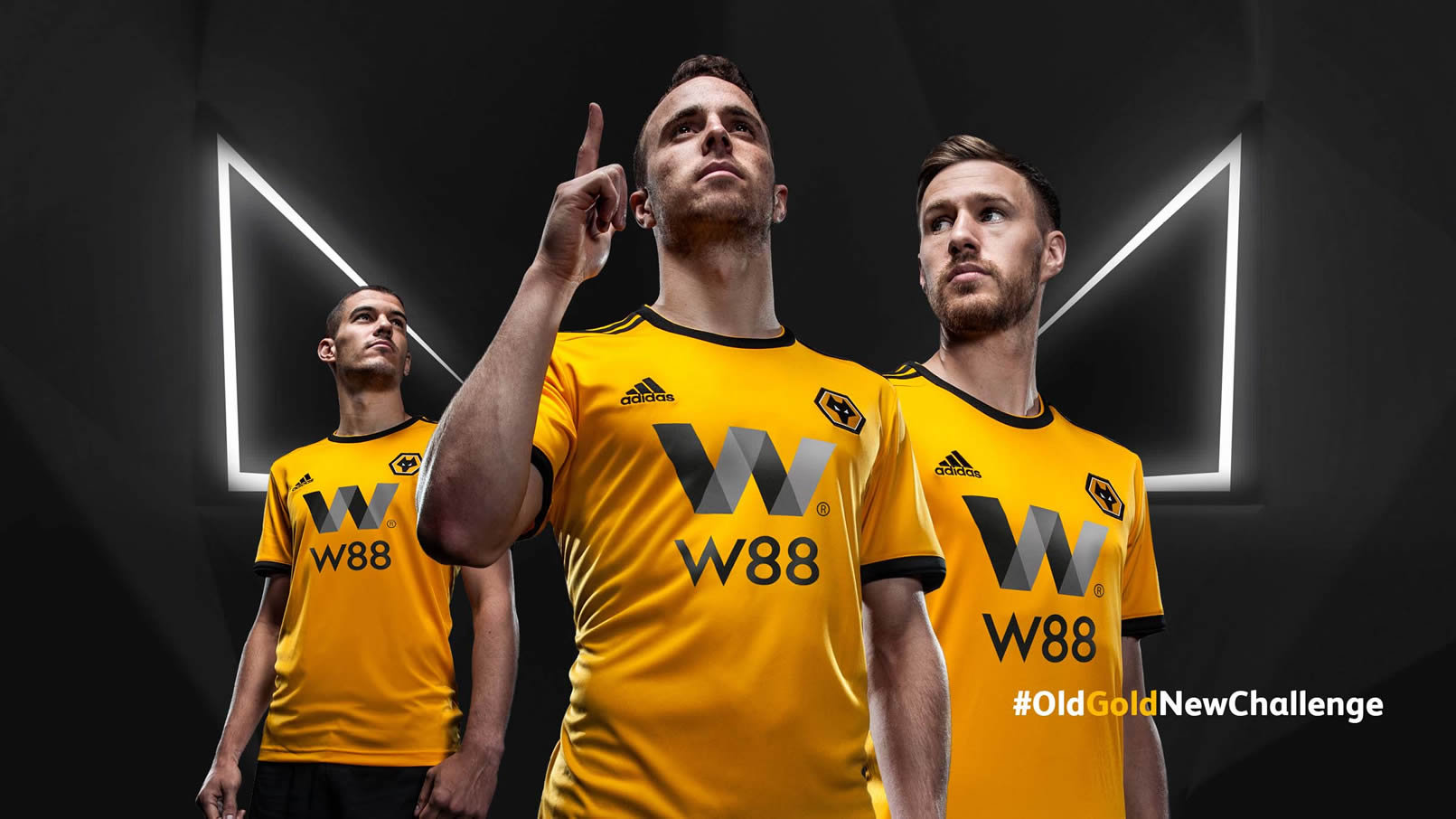 Camiseta titular Adidas del Wolverhampton 2018/19 | Imagen Web Oficial