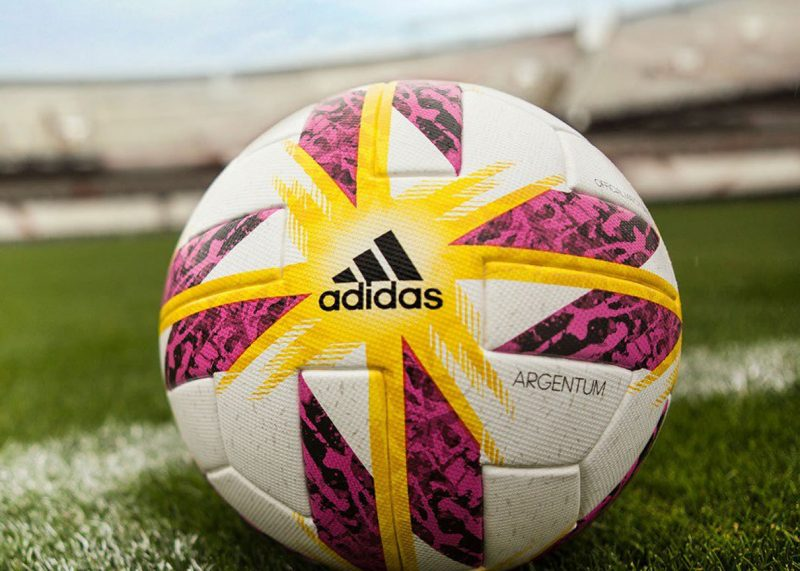Balón oficial Adidas Argentum 18   Imagen TyC Sports