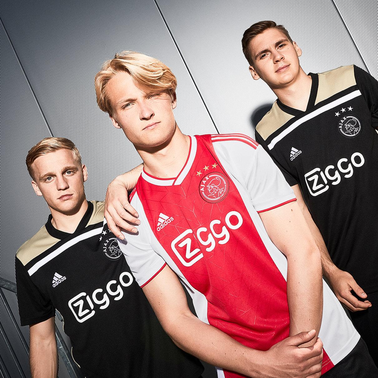 Los últimos modelos que preparó Adidas para el Ajax | Imagen Web Oficial