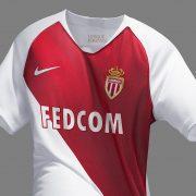Camiseta titular Nike del AS Monaco 2018/19   Imagen Web Oficial