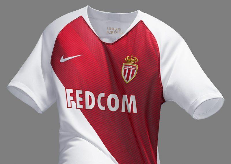 b9e983f0a1 Camiseta titular Nike del AS Monaco 2018 19