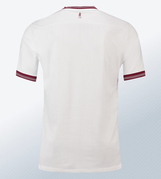 Camiseta suplente Luke 1977 del Aston Villa | Imagen Web Oficial