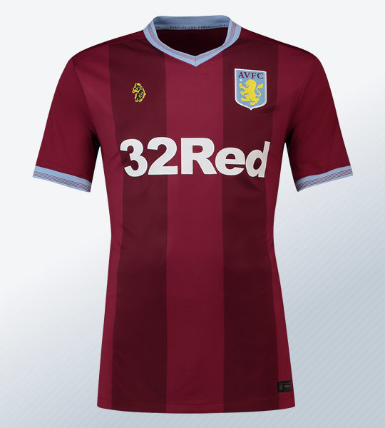 Camiseta titular Luke 1977 del Aston Villa | Imagen Web Oficial