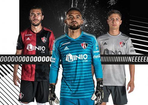 Camisetas Adidas del Atlas de Guadalajara 2018/19 | Imagen Twitter Oficial