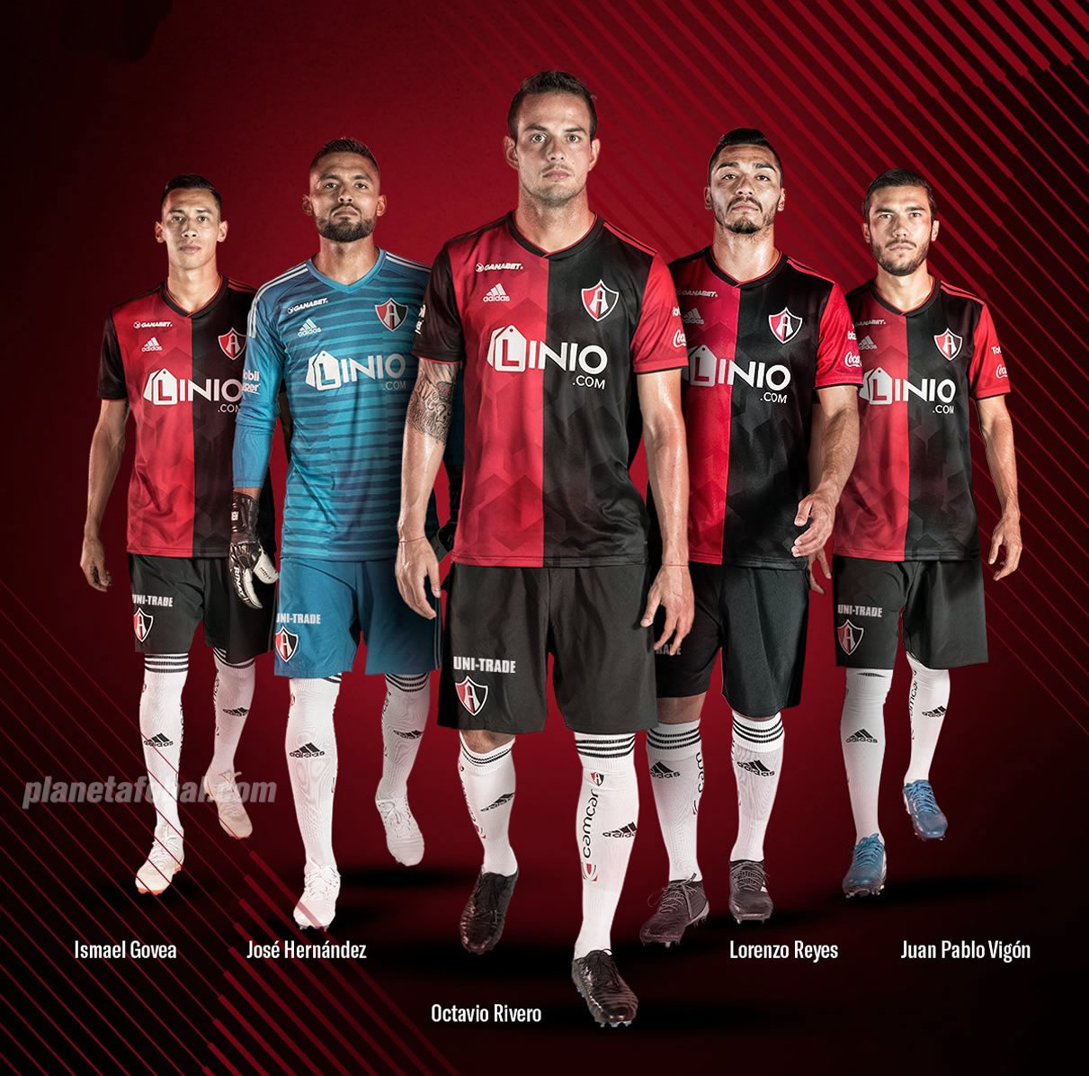 Camiseta titular Adidas del Atlas de Guadalajara 2018/19 | Imagen Twitter Oficial